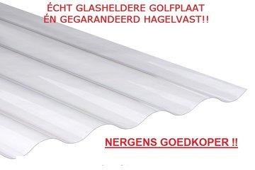 GOLFPLAAT-78-16-GLASHELDER-1-WANDIG-1mm-POLYCARBONAAT