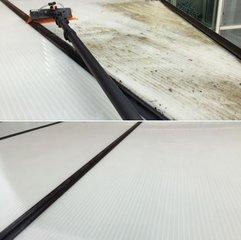 Polycarbonaat-en-veranda-reinigen