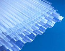 Golfplaat-polyester
