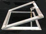 Opzet ventilatieraam voor lichtkoepel 40x40cm_