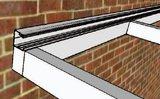 muurprofiel KP15 voor polycarbonaatdak lengte 300 t/m 700cm v.a._