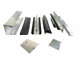 Polycarbonaat dak B500xD350cm opbouw KP1 incl 16mm kanaalplaten _