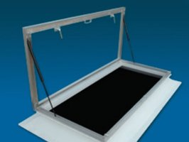 Dakbetredingsunit INCLUSIEF lichtkoepel 100x160cm