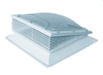 Insectenhor voor lichtkoepels ventilatie dagmaat 40x40cm