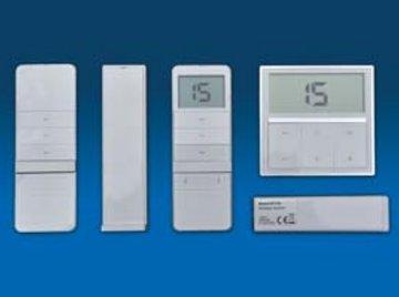 15-Kanaals wandzender met LCD-scherm