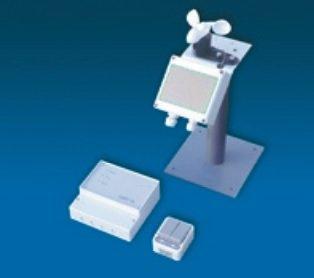 Wind- en regenbesturing sensor voor elektrische lichtkoepels