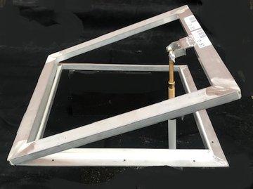 Opzet ventilatieraam voor lichtkoepel 75x75cm