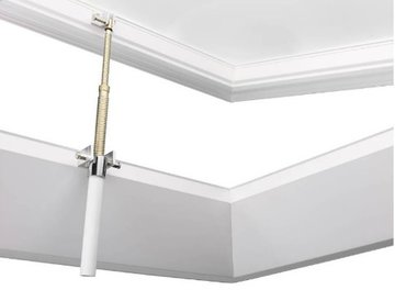 Lichtkoepel 100x220cm ventilatie inclusief opengaande opstand