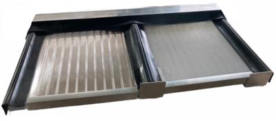Polycarbonaat dak B500xD250cm opbouw KP1 incl 16mm kanaalplaten