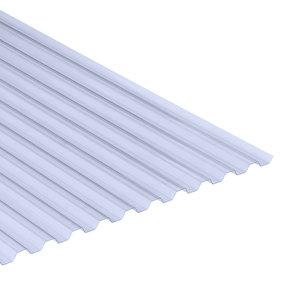 Golfplaat PVC Novolon type N 70/16 damwand 100cm